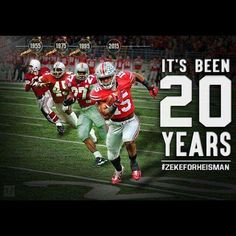"The Buckeye Nut on Twitter: ""If the 20 year rule holds true, #OhioState RB Ezekiel Elliott will be your 2015 Heisman Trophy winner! #GoBucks http://t.co/wUf6Fi1KSY"""
