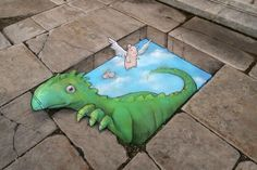 """flap em if you got em"" by David Zinn"