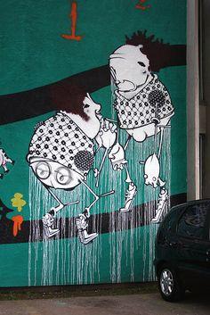 Onesto (Alex Hornest) - Brazilian street artist - photo by FernandoGomes0301, via Flickr