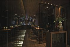 Steve Leung Designers :: Mango Tree Dubai Restaurant
