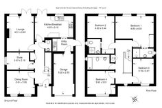 Classic Layout - 4 Bedroom - 161 sq.m - FloorPlans24 delivers a solution that works for YOU – Talk to us…