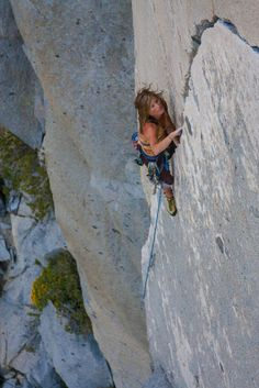 Nice crack climb at Rock Creek.  (I Love Climbing)