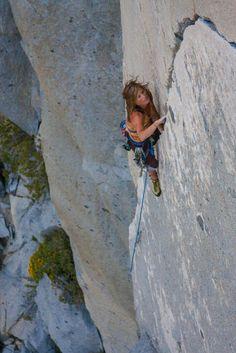 Nice crack climb at