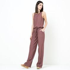 Image Macacão-calças estampado LAURA CLEMENT