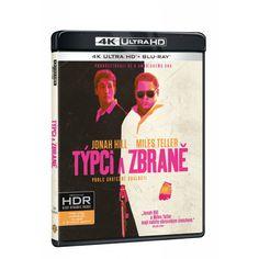 Blu-ray Týpci a zbraně, UHD + BD, CZ dabing | Elpéčko - Predaj vinylových LP platní, hudobných CD a Blu-ray filmov Miles Teller, Jonah Hill, Blues, Cover