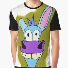 """""""Funny donkey"""" T-shirt by tuneoperator 