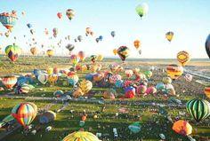Like a sea of confetti