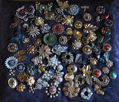 brooches, brooches, brooches..