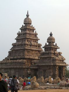 Mamallapuram Shore Temple, Tamil Nadu, India. © 2016 a kiwindian couple.