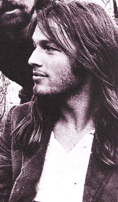 David Gilmour / Pink Floyd, ca. 1970's. ° Possibly my favorite human ever, next to Bob Dylan.