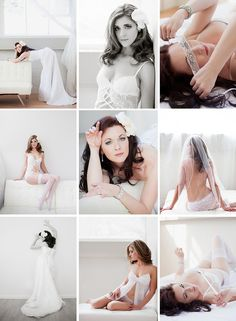 Behind the scenes of a bridal boudoir session