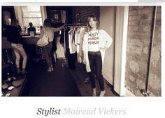 Zoe Carol AW14 Launch Wardrobe Rack, Shots, Stylists, Product Launch
