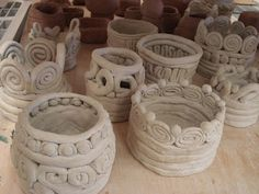 a faithful attempt: clay Coil Vessels
