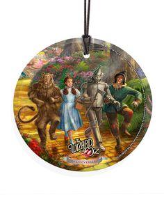Loving this Follow the Thomas Kinkade Wizard of Oz  Yellow Brick Road Ornament on #zulily! #zulilyfinds