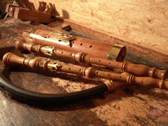 Oboe Da Caccia, Baroque Oboe, and Baroque Bassoon by Paul Hailperin, Germany