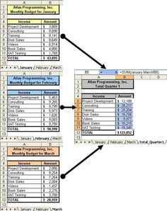 EXCEL: SUM_MultipleSheets