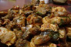 Tocanita de ciuperci cu carne de pui, Rețetă de Gabrielaolteanu - Petitchef