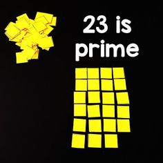 If your students struggle with the idea of prime vs. composite numbers, this hands-on investigation activity into prime numbers may be helpful, especially to the kinesthetic learners in your classroom. Composite Numbers, Math Word Walls, Prime Numbers, Number Activities, Math Words, Student Work, Maths, Investigations, Composition