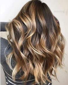 Best ideas about brown hair caramel highlights (91)
