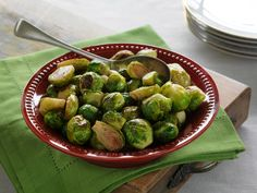 Garlic and Herb Roasted Brussels Sprouts. With only three ingredients, this recipe works miracles on Brussels sprouts. Serve these as a Christmas side and you won't be disappointed, unless you were hoping for leftovers!