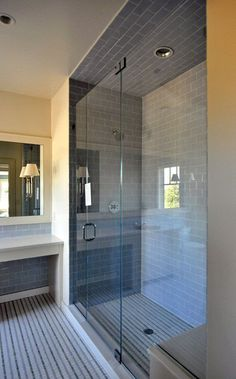 This shower would be perfect for the closet space, but needs to be a steam shower