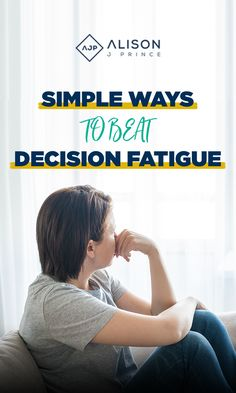 Making decisions takes energy so the more you make, the more it takes out of you. Prince Ghuman, a neural marketing guru outlines that our brain operates in two modes when making decisions. Click Here to learn about two things which can change your decision making skills!#alisonjprince #smallbusinessowner #ecommerce #entrepreneur #becauseicanlife #createchange #decisionfatigue #inspire #onlinebusiness #bethechange #momboss Making Decisions, Decision Making, Decision Fatigue, Marketing Guru, Outlines, Simple Way, You Changed, Ecommerce, Online Business