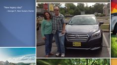 Dear George Panichas   A heartfelt thank you for the purchase of your new Subaru from all of us at Premier Subaru.   We're proud to have you as part of the Subaru Family.