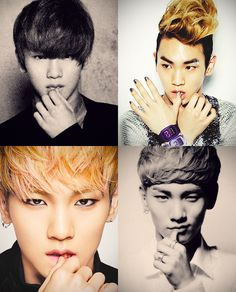 Key likes touching his lips. A lot.