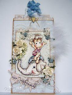 Magnolia Cards by Kim Piggott: Miss Dorothy and Elephant Show Tilda!