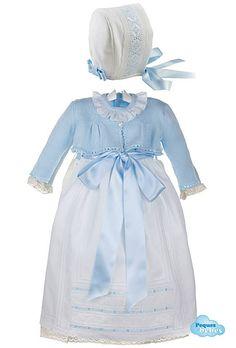 Conjunto de faldón con chaqueta para bebés y capota a juego. http://www.pequesybebes.es/ropa-bebe-batones/334-conjunto-faldon-chaqueta-capota-bebe-ceremonia.html