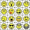 old school emotions. if you knew how to type these out instead of click them you were especially cool. #90s