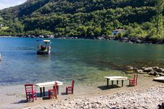 Don't you just want to sit here all afternoon by the sea? The village of Gideros, an inlet of the Black Sea, #Turkey