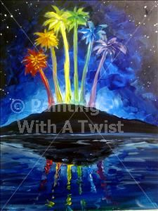 Wicked events and trees on pinterest for Painting with a twist charlotte nc