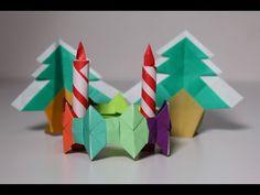 簡単折り紙 カラー ブレスレット - YouTube