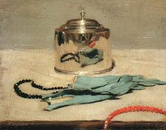 William Nicholson still life oil painting