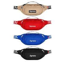 3d39dee2eb Authentic Supreme 18SS 44th WAIST BAG Box Logo Shoulder Bag Waterproof Nylon   fashion  clothing