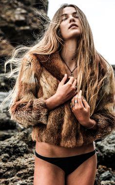 Kita Alexander Fox Fur, Bikinis, Swimwear, Thong Bikini, Furs, Photography, Inspiration, Beauty, Fashion