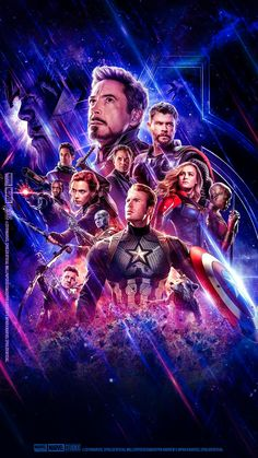 Details about Avengers End Game Poster Main Characters Marvel Movie Film Print - Phone Wallpaper Captain Marvel, Marvel Avengers, Captain America, Marvel Comics, Hero Marvel, Films Marvel, Avengers Movies, The Avengers Assemble, Hawkeye Marvel