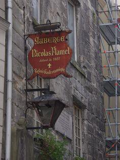 Auberge Nicolas Flamel, the oldest stone house in Paris, at 52 rue de Montmorency