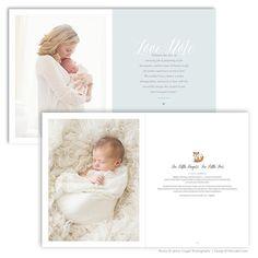 Newborn Photography Marketing Magazine Promotional par FOTOVELLA