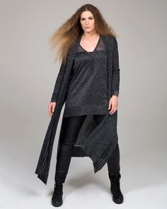 """""""Urban Chic"""" trend • mat. F/W 2016-17 collection Big Size Fashion, Urban Chic, Fashion 2017, Fall Winter, Autumn, Tunic Tops, Sweaters, Collection, Dresses"""