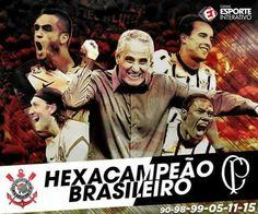 Sport Club Corinthians Paulista - Seis vezes Campeão Brasileiro!