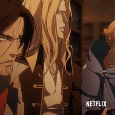 Alucard Castlevania, Castlevania Netflix, Castlevania Lord Of Shadow, Trevor Belmont, Vampire Hunter D, Lord Of Shadows, Saga, Animation Series, Dracula