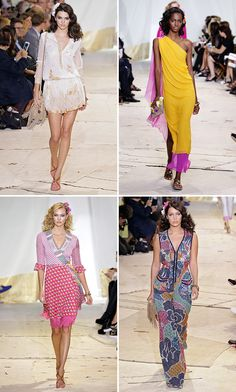 There's almost never been a more important time than now for the ultimate power woman, Diane von Furstenberg, to make a statement about the strength, sophistication and savvy of women. And she did it brilliantly in her Spring 2016 collection.