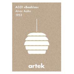 <センプレ> アイコン ポスター Beehive (Artek)