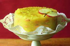 Nepečený jablkový dort Pavlova, Dessert Recipes, Desserts, No Bake Cake, Paleo, Cooking Recipes, Pudding, Sweets, Cheese