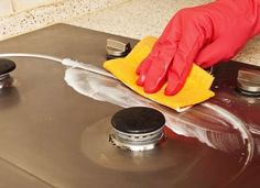 How to polish metal appliances with toothpaste