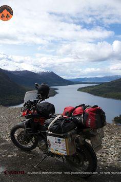 Ushuaia, Argentina, Tierra del fuego, bmw, adventure, motorcycle, travel, documentary, dualsport, mountains, river, biking