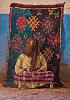 this carpet is handmade to walk on it , blessed the hands who done it , we should respect every woman had spend days and nights to cover our home's floor .