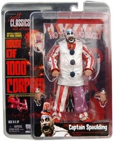 "Up for Sale ~  House of 1000 Corpses 7"" Action Figure Captain Spaulding"